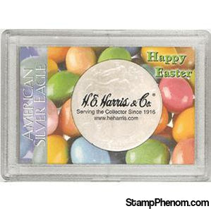 ASE Frosty Case - Happy Easter-Coin Holders & Capsules-HE Harris & Co-StampPhenom