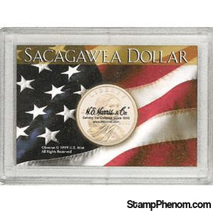 Sacagawea Frosty Case-Coin Holders & Capsules-HE Harris & Co-StampPhenom