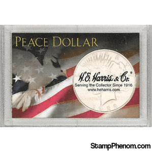 Peace Dollar Frosty Case-Coin Holders & Capsules-HE Harris & Co-StampPhenom