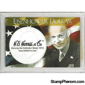 Ike Dollar Frosty Case-Coin Holders & Capsules-HE Harris & Co-StampPhenom