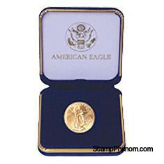 US Mint Gold Eagle 1/2 oz Presentation Box-US Mint UNC Coin Boxes-OEM-StampPhenom