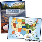 National Park Quarter Map - 1 MM-Collector Maps, Archives, Kits & Boards-Littleton-StampPhenom