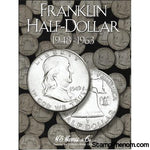 Franklin Half Dollar Folder 1948-1963-HE Harris Folders-HE Harris & Co-StampPhenom