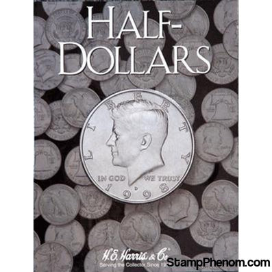Half Dollars Plain-HE Harris Folders-HE Harris & Co-StampPhenom