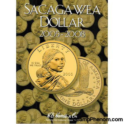 Sacagawea Folder Dollar 2005-2008-HE Harris Folders-HE Harris & Co-StampPhenom