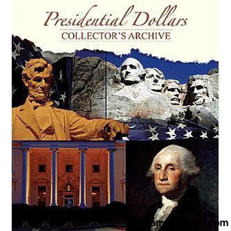 Presidential Dollar Collectors Archive Folder-Collector Maps, Archives, Kits & Boards-Whitman-StampPhenom