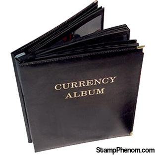 HE Harris Deluxe Currency Album - Large Notes-Slab and Currency Albums-HE Harris & Co-StampPhenom