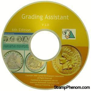 Grading Assistant CD-Coin DVD's and Software-Carlisle Development, Inc-StampPhenom