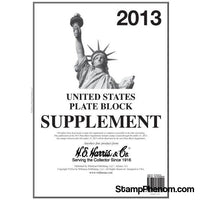 Plate Block Supplement 2013-Album Supplements-HE Harris & Co-StampPhenom