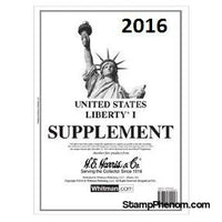 2016 Liberty I Supplement-Album Supplements-HE Harris & Co-StampPhenom
