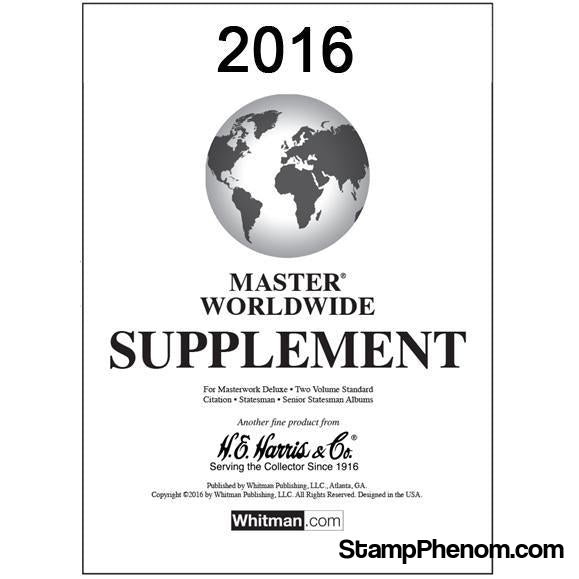 2016 Master Supplement-Album Supplements-HE Harris & Co-StampPhenom