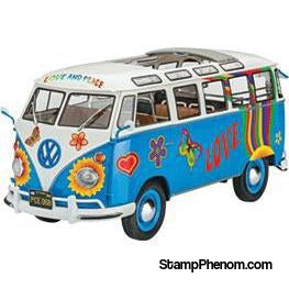 Revell Germany - VW T1 Samba Bus Flower P 1:24-Model Kits-Revell Germany-StampPhenom