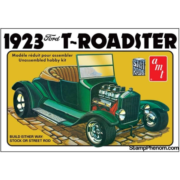 AMT - 1923 Ford T-Roadster 1:25-Model Kits-AMT-StampPhenom
