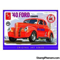 "AMT - 1940 Ford Coupe ""Trophy Series"" 1:25-Model Kits-AMT-StampPhenom"