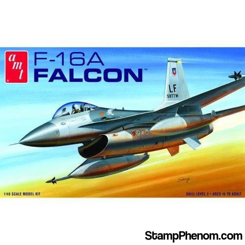 AMT - F-16A Falcon Fighter 1:48-Model Kits-AMT-StampPhenom