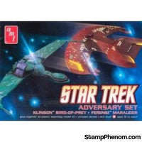 AMT - Star Trek Adversary Set 2 Piece Multi-Colored-Model Kits-AMT-StampPhenom