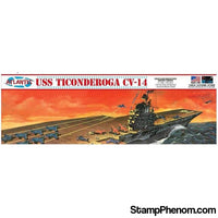 Atlantis - USS Ticonderoga CV-14 Angled Deck Carrier 1:500-Model Kits-Atlantis-StampPhenom