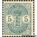 Danish West Indies 1900 Coat of Arms-Stamps-Danish West Indies-Mint-StampPhenom
