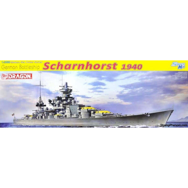Dragon - German Battleship Scharnhorst 1:350-Model Kits-Dragon-StampPhenom