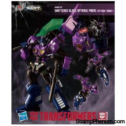 Flame Toys - Shattered Glass Optimus Prime (Attack Mode) Transformer-Model Kits-Flame Toys-StampPhenom