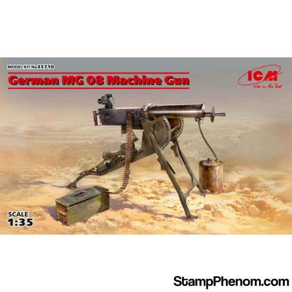 ICM - German MG 08 Machine Gun 1:35-Model Kits-ICM-StampPhenom