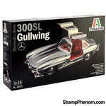 Italeri - Mercedes Benz 300SL Gullwing 1:16-Model Kits-Italeri-StampPhenom