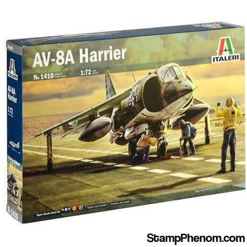 Italeri - AV-8A Harrier 1:72-Model Kits-Italeri-StampPhenom