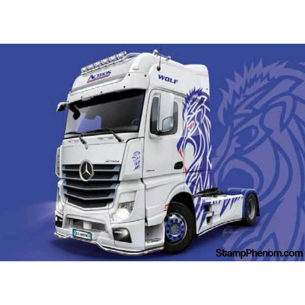 Italeri - Mercedes Benz Actros MP4 Giga Space Show Truck 1:24-Model Kits-Italeri-StampPhenom