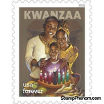 United States of America - Kwanzaa - Pane of 20-Stamps-USPS-StampPhenom