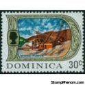 Dominica 1969 Definitives, Set of 4-Stamps-Dominica-Mint-StampPhenom