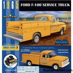 Model King - '65 Ford F-100 Service Truck With Utility Bed-Model Kits-Model King-StampPhenom