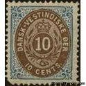 Danish West Indies 1876 Numeral of Value-Stamps-Danish West Indies-Mint-StampPhenom