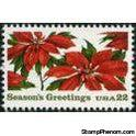 United States of America 1985 Poinsettia Plants-Stamps-United States of America-Mint-StampPhenom