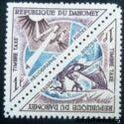 Dahomey 1967 Post Pirogue / Heliograph-Stamps-Dahomey-Mint-StampPhenom
