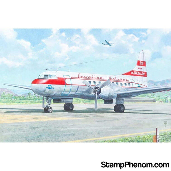Roden - Convair CV‐340 Hawaiian Airlines 1:144-Model Kits-Roden-StampPhenom