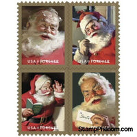 United States of America - Sparkling Holidays - Pane of 20-Stamps-USPS-StampPhenom