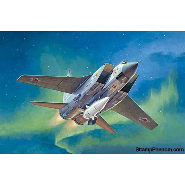 Trumpeter - MiG-31BM & KH-47M2 Russian Fighter 1:72-Model Kits-Trumpeter-StampPhenom