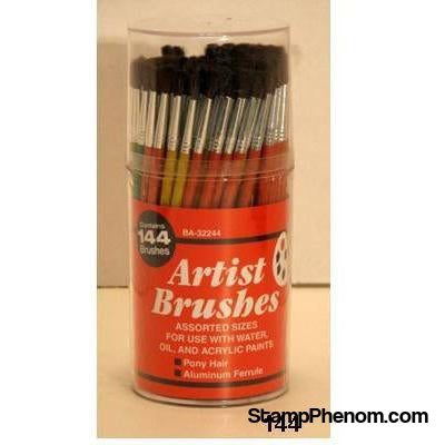 Atlas Brush - Economy Camel Brushes 1-6 144-Paint & Supplies-Atlas Brush-StampPhenom