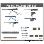 Academy - Us Ww-Ii Machine Gun Set 1:35-Model Kits-Academy-StampPhenom
