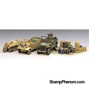 Academy - Ww-Ii Vehicle Set 1:72-Model Kits-Academy-StampPhenom