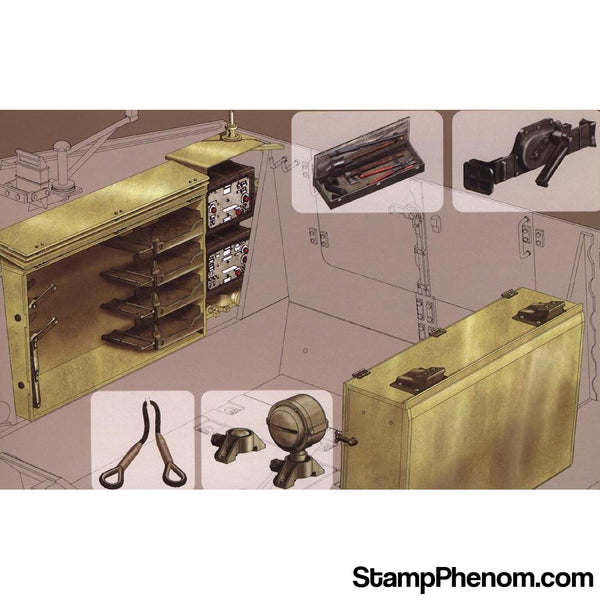 AFV Club - Sdkfz.164 Nashorn Ammo & Accessories-Model Kits-AFV Club-StampPhenom