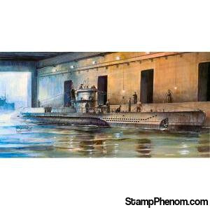 AFV Club - U-Boat Type VII/D U-213 1:350-Model Kits-AFV Club-StampPhenom