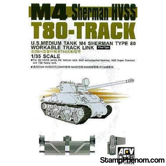 AFV Club - M-4 Sherman T80 Track Links 1:35-Model Kits-AFV Club-StampPhenom
