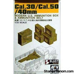 AFV Club - 30cal/50cal Ammo Boxes 1:35-Model Kits-AFV Club-StampPhenom