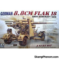 AFV Club - Flak 18 8.8cm Anti-Aircraft Gun 1:35-Model Kits-AFV Club-StampPhenom