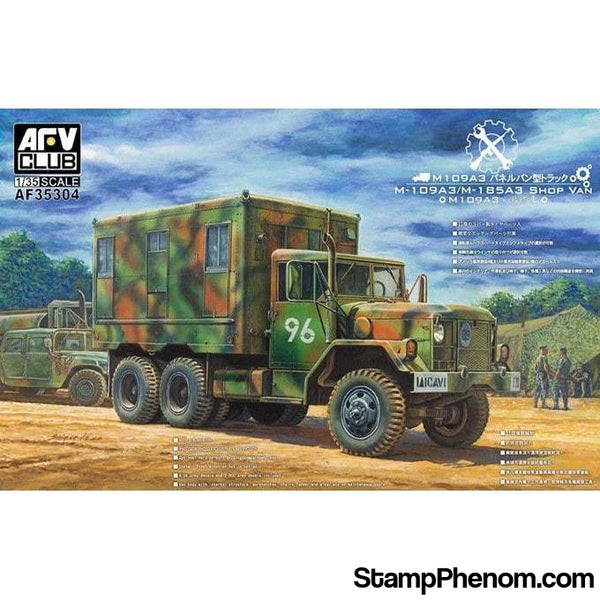 AFV Club - M109A3 Van Shop 1:35-Model Kits-AFV Club-StampPhenom