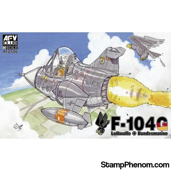 AFV Club - Q Scale W. German F-104G-Model Kits-AFV Club-StampPhenom