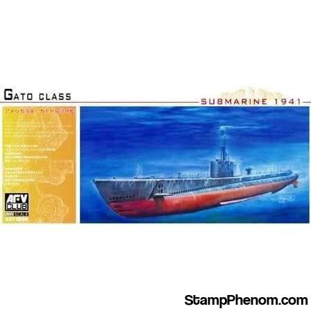 AFV Club - USN Gato-Class Submarine 1:350-Model Kits-AFV Club-StampPhenom