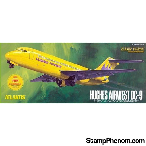 Atlantis - Dc-9 Hughes Airways 1:72-Model Kits-Atlantis-StampPhenom
