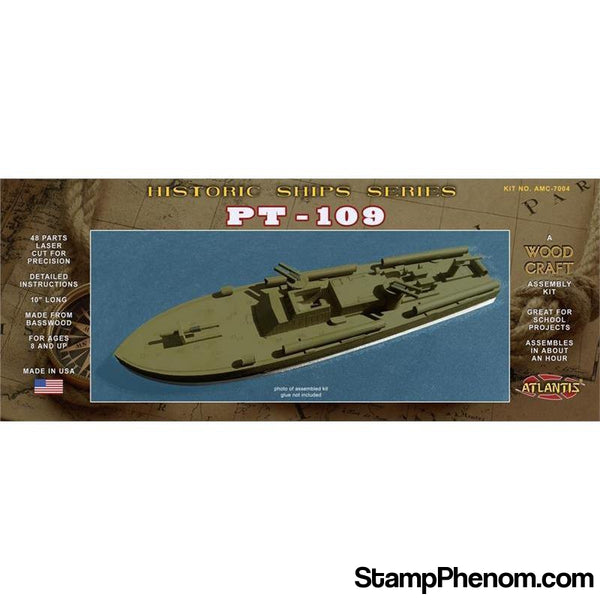 Atlantis - JFK's PT-109 LZCUT-Model Kits-Atlantis-StampPhenom